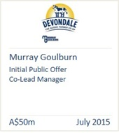 Murray Goulburn July 2015