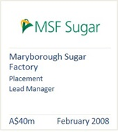 Maryborough Sugar Factory, February 2008