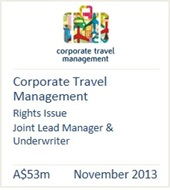 Corporate Travel Management November 2013