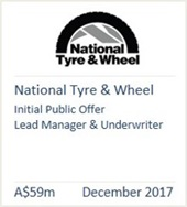 National Tyre & Wheel - December 2017
