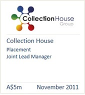 Collection House November 2011