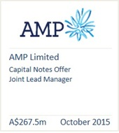 AMP Limited October 2015