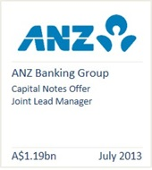 ANZ Banking Group July 2013