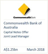 Commonwealth Bank of Australia March 2018