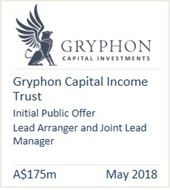 Gryphon Capital Income Trust 2018