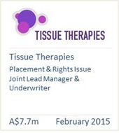 Tissue Therapies February 2015