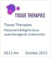 Tissue Therapies October 2013