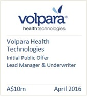 Volpara Health Technologies April 2016