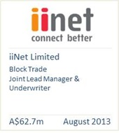 iiNet Limited August 2013