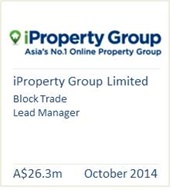iProperty Group Limited Octoboer 2014