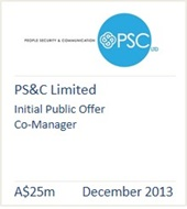 PS&C Limited December 2013