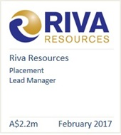 Riva Resources 2017